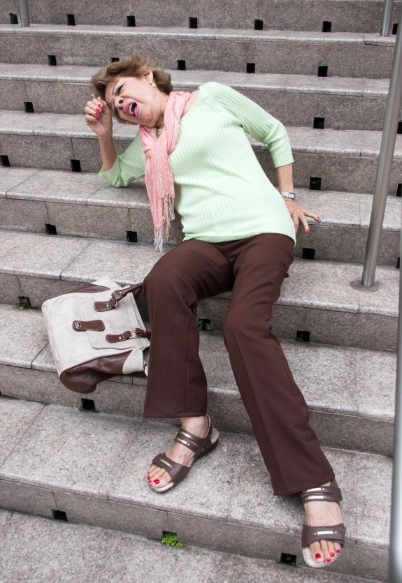 Facteurs de chute des personnes âgées