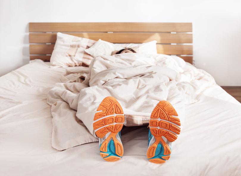 Des exercices à faire dans son lit