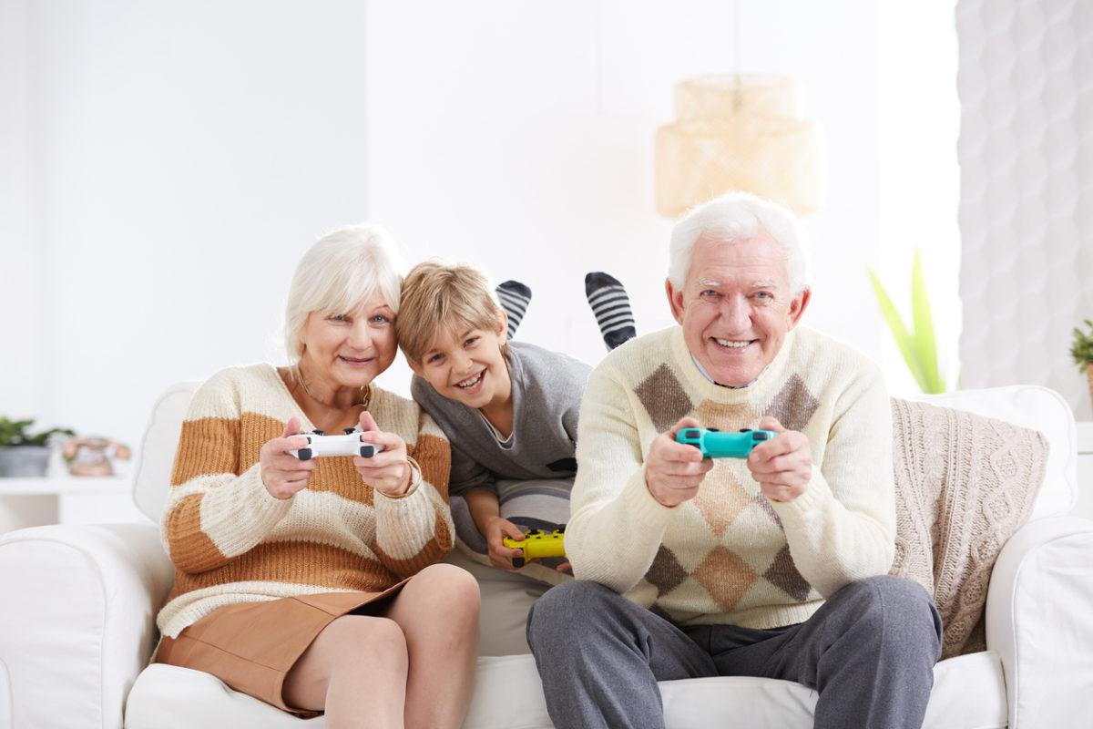 Les jeux vidéo seraient bénéfiques à la santé des seniors